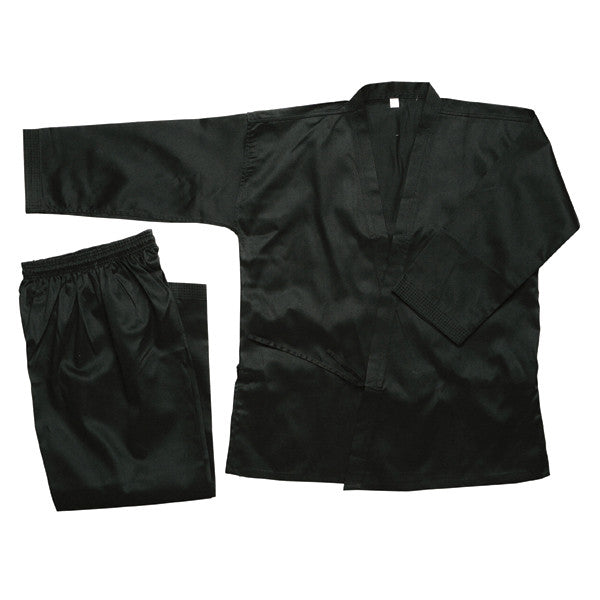Karate Gi, Black - 8oz - Valley Martial Arts Supply