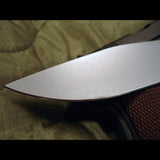 Mad Dog SEAL ATAK knife side tip view