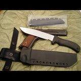Mad Dog SEAL ATAK knife with two sheaths