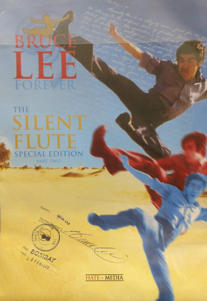 The Silent Flute, Pt. 2 Bruce Lee Poster Magazine