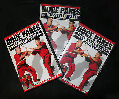 Doce Pares Multi-Style System Volumes 1, 2, & 3 - Valley Martial Arts Supply