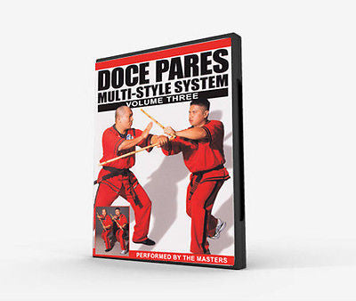 Doce Pares Multi-Style System Volume 3 - DVD - Valley Martial Arts Supply