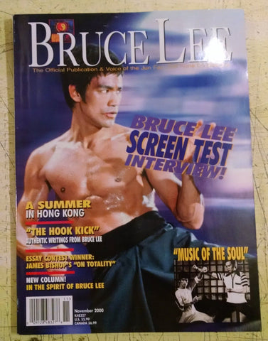 11/2000 BRUCE LEE  Official Publication & Voice of the Jun Fan Kune Do Nucleus - Valley Martial Arts Supply