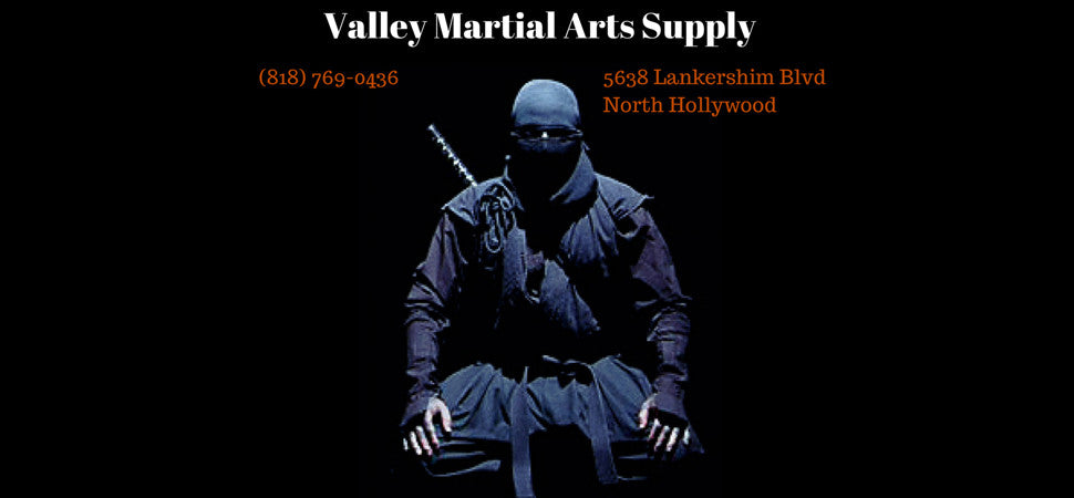 Ninja uniform and weapons available here.