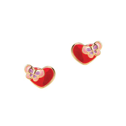 Sweetheart Collection- Luv U Studs - Milly's Boutique