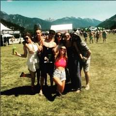 We're heading to Pemberton Music Festival