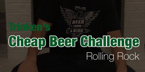 Cheap Beer Challenge🍺Rolling Rock - Day 3