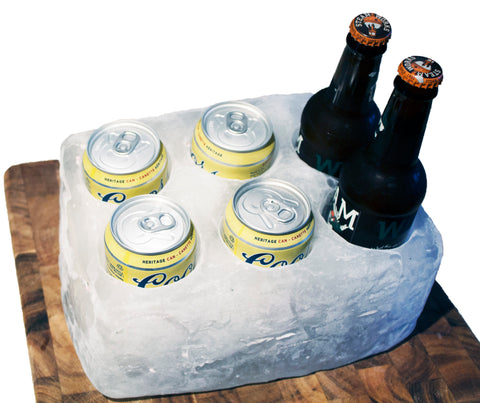 6-Pack in Ice Mold