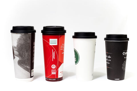 Trinken Lid on Variety of Cups