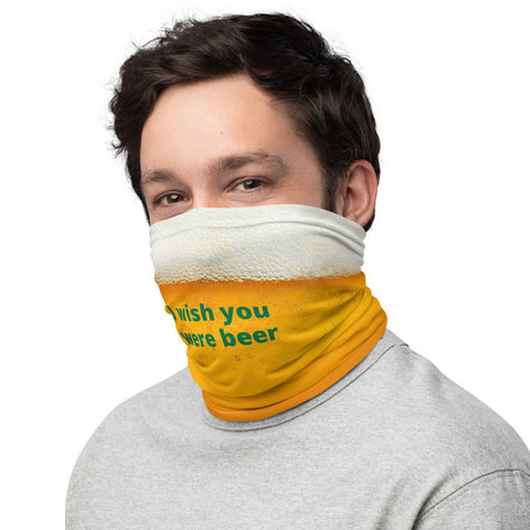 Image of I Wish You Were Beer Mask