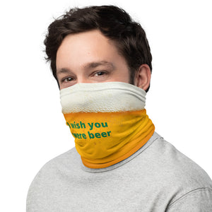 I Wish You Were Beer Mask