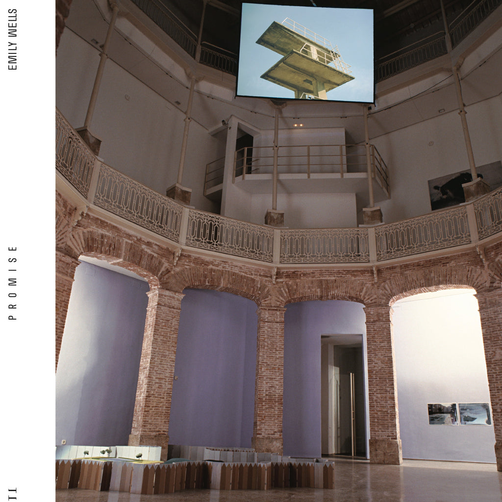 "album cover and title are derived from the installation ""Promesa"" by Cabello/Carceller"