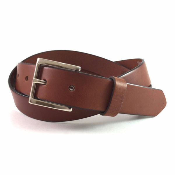 Sorrento Amber Skinny Belt Nickel Plated Pin