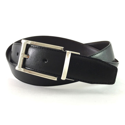 Reversible Dress Belt Black