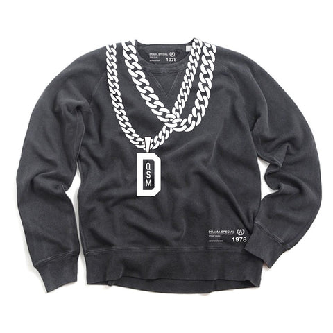 Dedication Chain Crew - Black