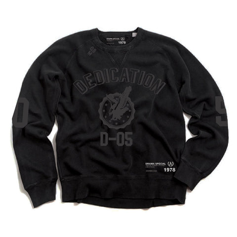 Dedication D05 Crew - Black/Black