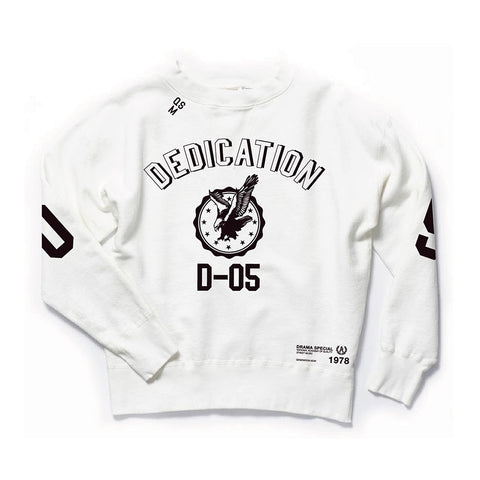 Dedication D05 Crew - White