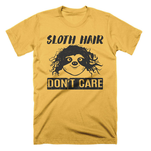 Funny Sloth T Shirt Messy Hair Funny Tees Cool Vintage Graphic Tees Gifts Tshirt