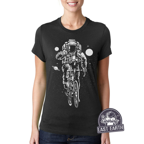 Astronaut on a Bike