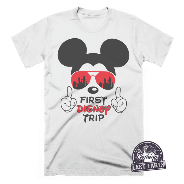 First Disney Trip Mickey Mouse