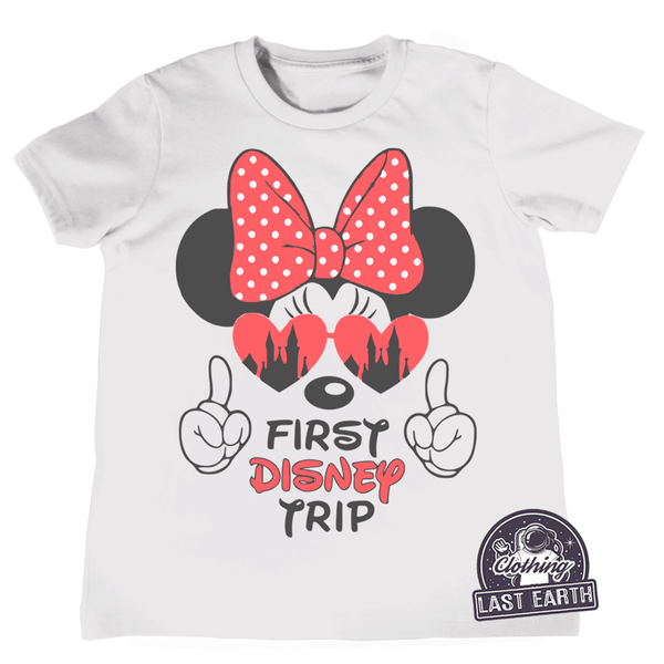 First Disney Trip Minnie Mouse