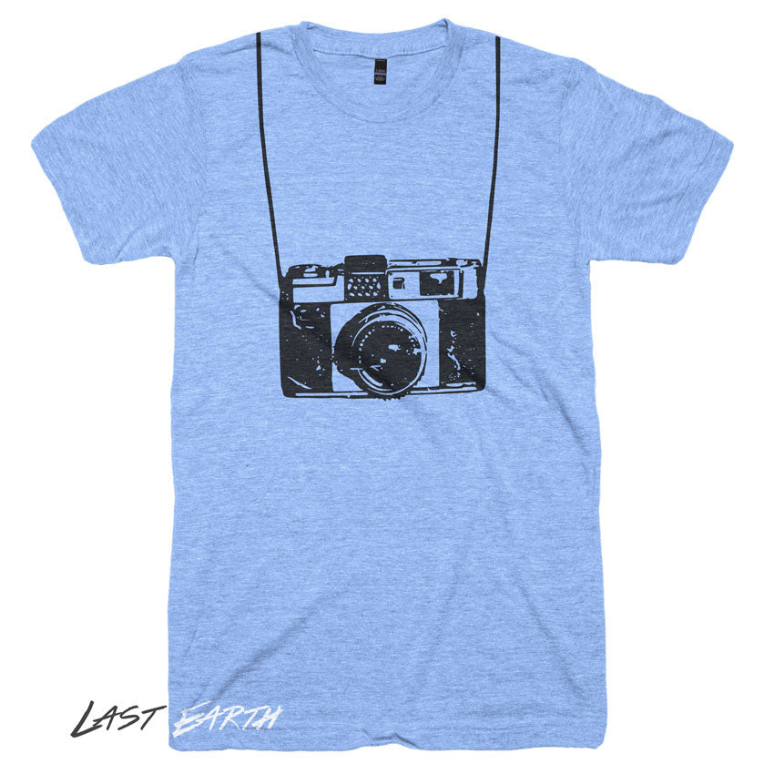 3ff62329c Camera T-Shirt - Funny Photographer Shirts - Last Earth Clothing