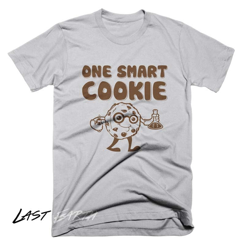 b73cd3a4bb7e One Smart Cookie T Shirt | Funny Food Science Geek Tees - Last ...
