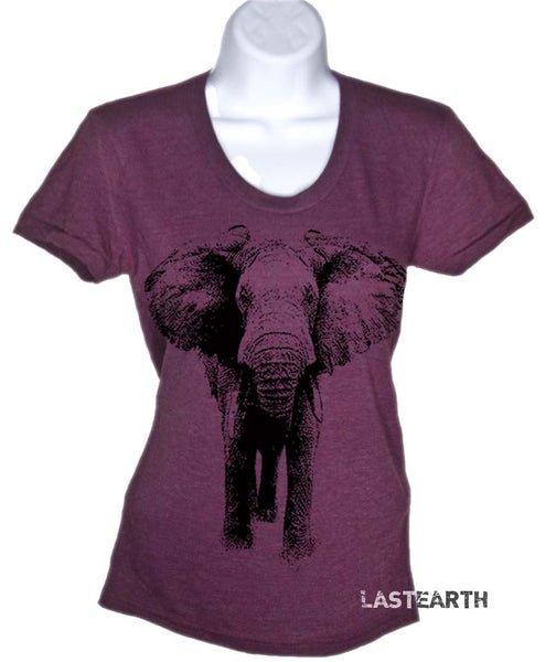 Elephant T-Shirt Womens Elephant T Shirt Gifts For Her Ladies Plus Sizes Animal Tees Soft Vintage Shirts Men Guys Kids Gift Idea Birthday