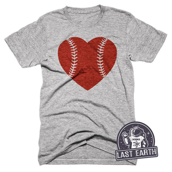 Love Heart Valentines Shirt Baseball Mom Shirts Baseball Tee Mom Life I Love Baseball T Shirt Cute Valentines Funny Sports Tshirt