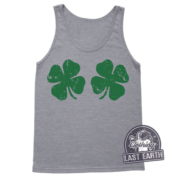 St Patricks Day Tank Shamrock Shirt Lucky Charm Funny Tshirts Womens Graphic Tees St Pattys Day Shirt Workout Tank Top Womens March Shirt