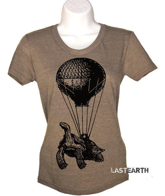 Turtle Shirt Hot Air Balloon Womens Graphic Tees Mens Tshirt Kids Funny Tshirts Birthday Gift T Gifts For Mom Him