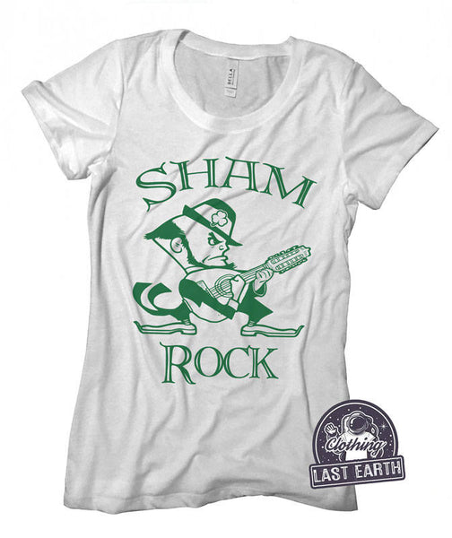 ShamRock Shirt | Funny St Patricks Day Shirt Women | Leprechaun Shirt | Guitar Shirt | St Pattys Day Shirt | Funny Shirts | Graphic Tee