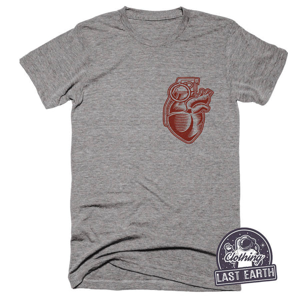 Heart Grenade Shirt | Military Gifts | Army Shirt | Husband Gift Tshirt | Army Wife Shirt | Gifts For Dad | Graphic Tee | Veteran Shirt