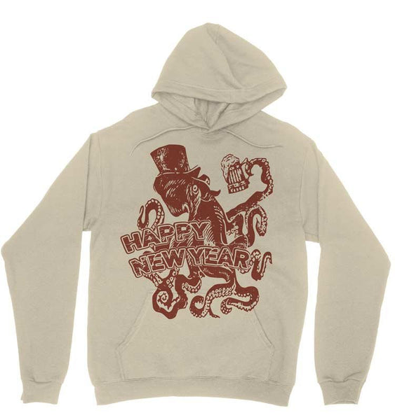 New Years Octopus Sweater Pullover Sweatshir / Hoodie / Hoodies / Unisex / Matching Sweatshirts / Couples / Ugly Christmas Sweatshirts