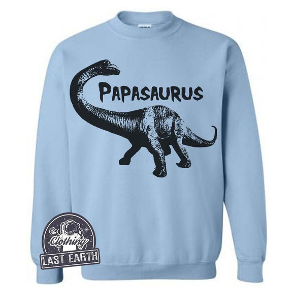 Papasaurus Sweater | Dad Gift | Papasaurus Sweatshirt | Gift For Dad | Funny Sweaters | Dinosaur Sweater | Papa Sweater | Fathers Gifts