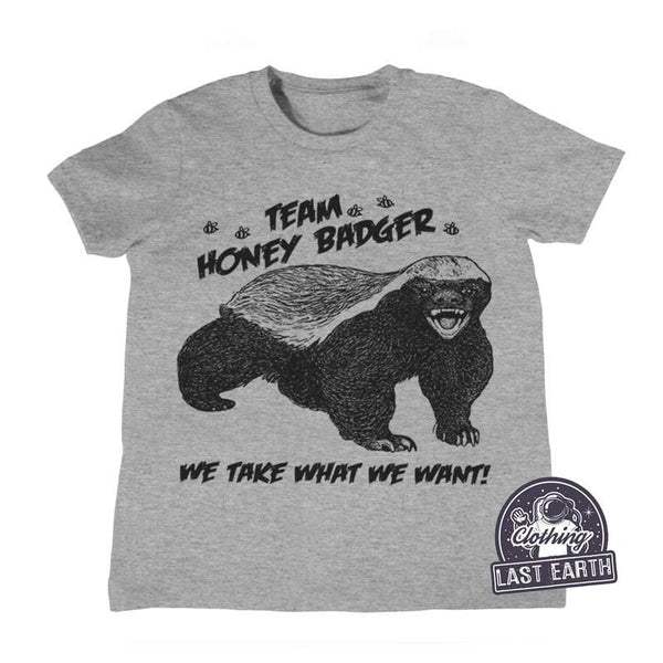 Team Honey Badger Family Matching Shirts, Mama, Papa, Baby Shirt Tank Top, Sweatshirt, Hoodie, Shirts, Gifts