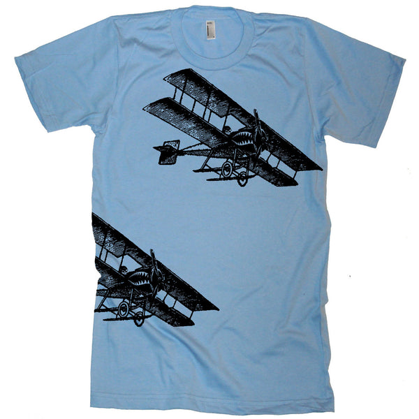 Vintage Fighter Planes T Shirt - Military Tshirt Army Shirt Pilot Tee Air Force Gift Ideas Fly Mens T Shirt Gift Ideas Present Boyfriend Dad