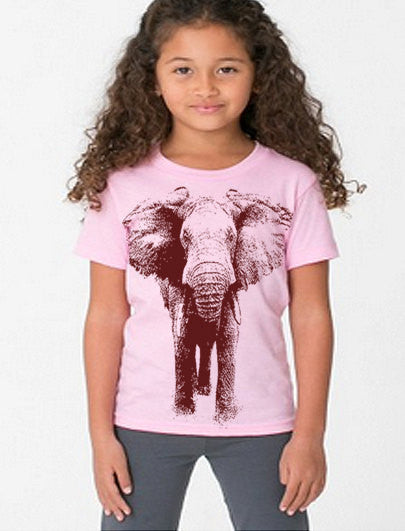 Kids Elephant T Shirt - Kids Tshirt - Graphic Tees Birthday Gift For Kids Gift Kids Clothes 1st Birthday Boy Girl Party Circus Theme Party