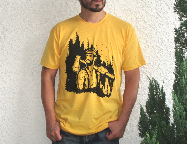 Lumberjack T-Shirt / American Apparel Shirt / Size & Color Options