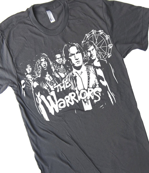 The Warriors T Shirt Gang Shirt Classic Movie Tee Warriors T Shirt Vintage Movie T Shirt Retro Art T Shirt 80s T Shirt Mens Unisex T Shirt