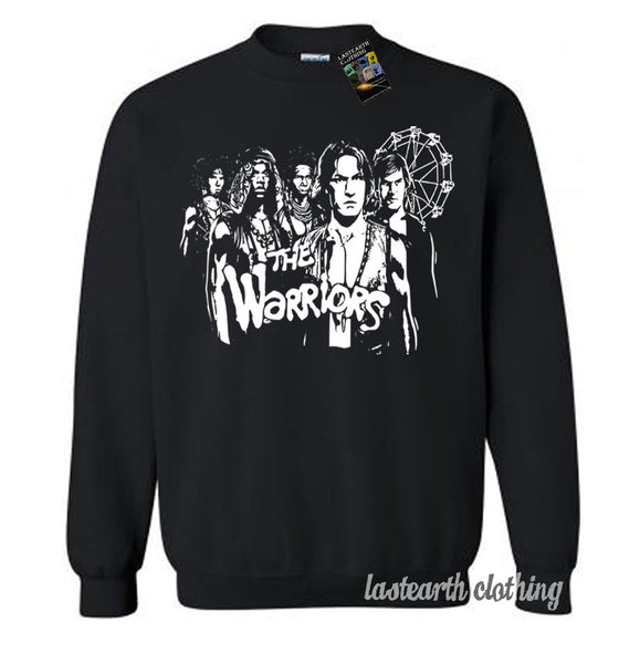 The Warriors Vintage 80s Movie Sweater Fleece Pullover Classic Sweatshirt - S M L Xl 2X