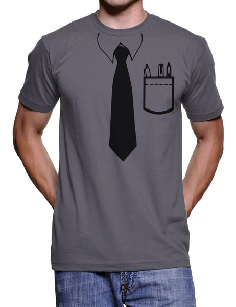 Funny Nerdy Tie T-Shirt Gifts For Geeks Mens Nerdy Tshirt Womens Tshirts Funny T Shirts Computer Nerd Shirt Joke Tees Humor Party Tshirts