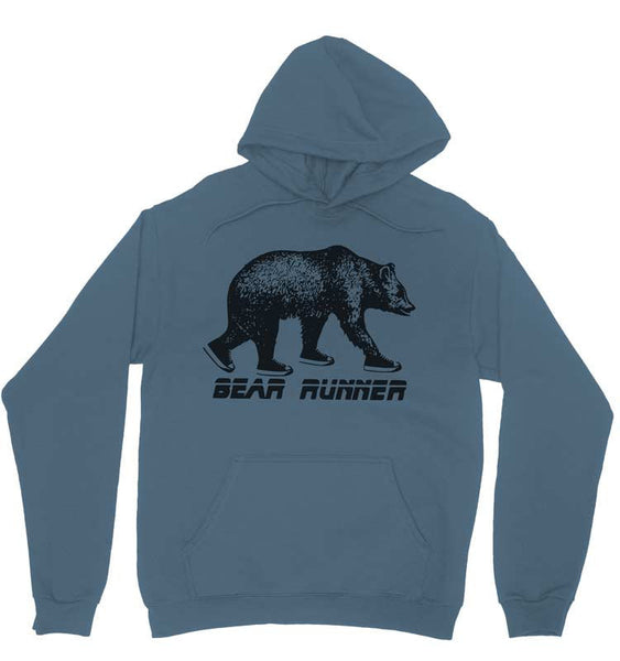 Bear Runner Pullover  Hoodie - S M L Xl 2X (5 Color Options)