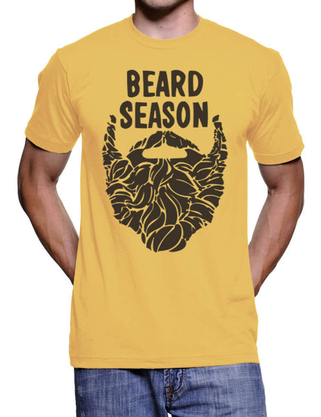 Beard Season T-Shirt - American Apparel Tshirt - S M L Xl 2X (9 Color Options)