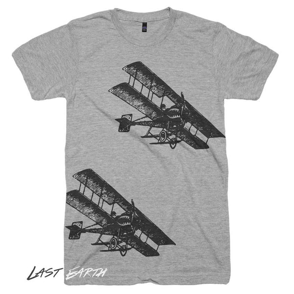 Vintage World War Fighter Planes T Shirt - Airforce Military Tshirts - Army Husband Soilder Gifts for Him Military Mens and Womens Tshirts