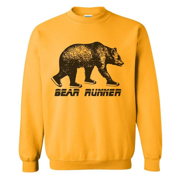 Bear Runner Sweatshirt - S M L Xl 2X (5 Color Options)