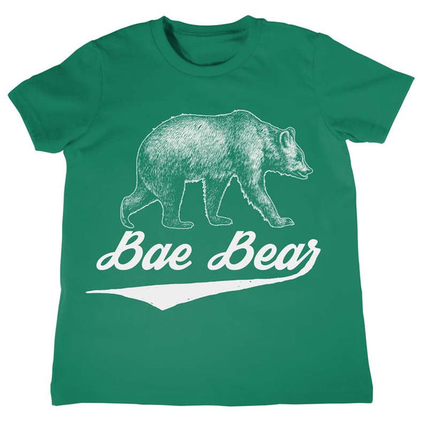 Kids Bae Bear T-Shirt - Boys Girls Birthday Shirt Childrens Tees Kids Tees Baby Bear Shirt Baby Bear T shirts Cub Shirts Gifts for Kids