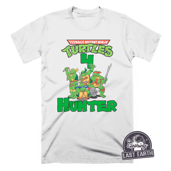 Personalized Ninja Turtle Birthday