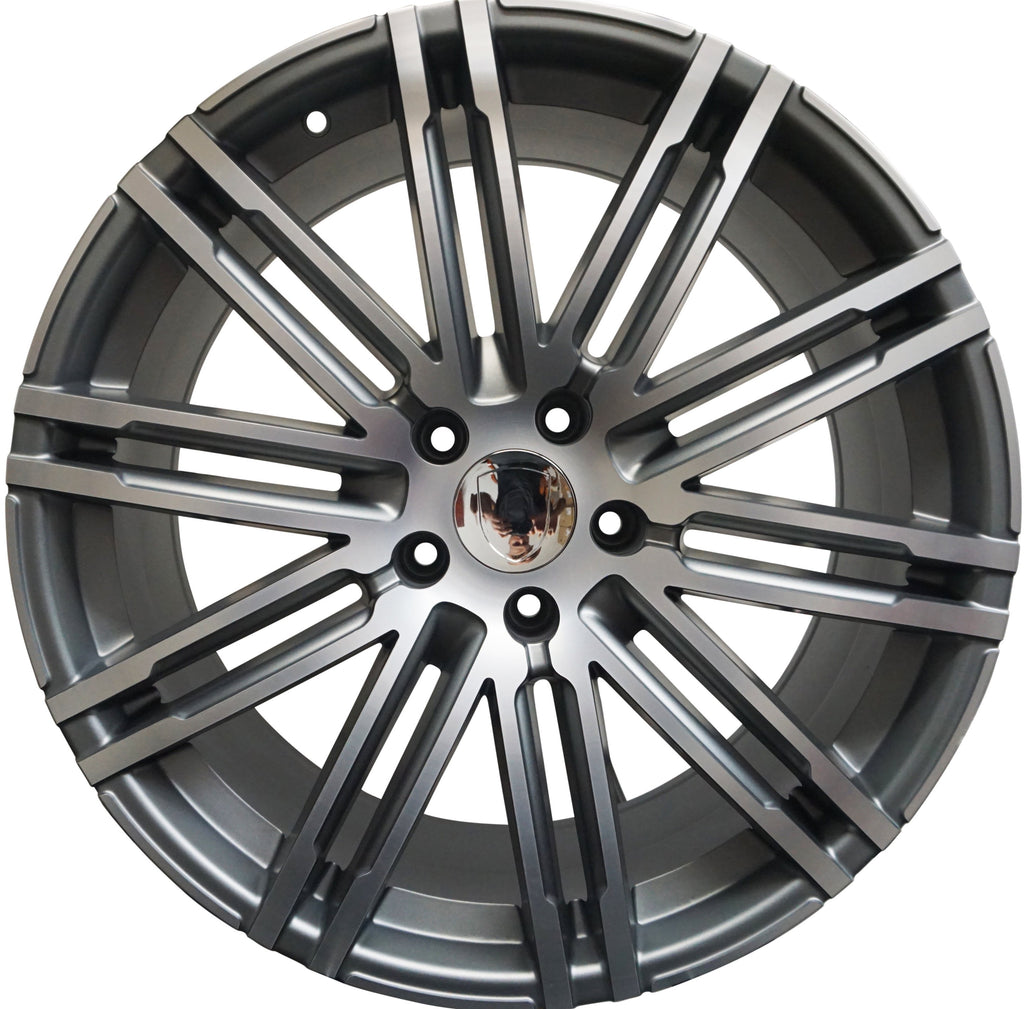 22 Inch Rims Fits Porsche Cayenne Models GTS Turbo Base Wheels - Concept Wheels