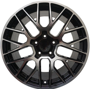 20 Inch Rims Fits Porsche Cayenne Base Turbo S GTS Turbo 2 Mesh Wheels